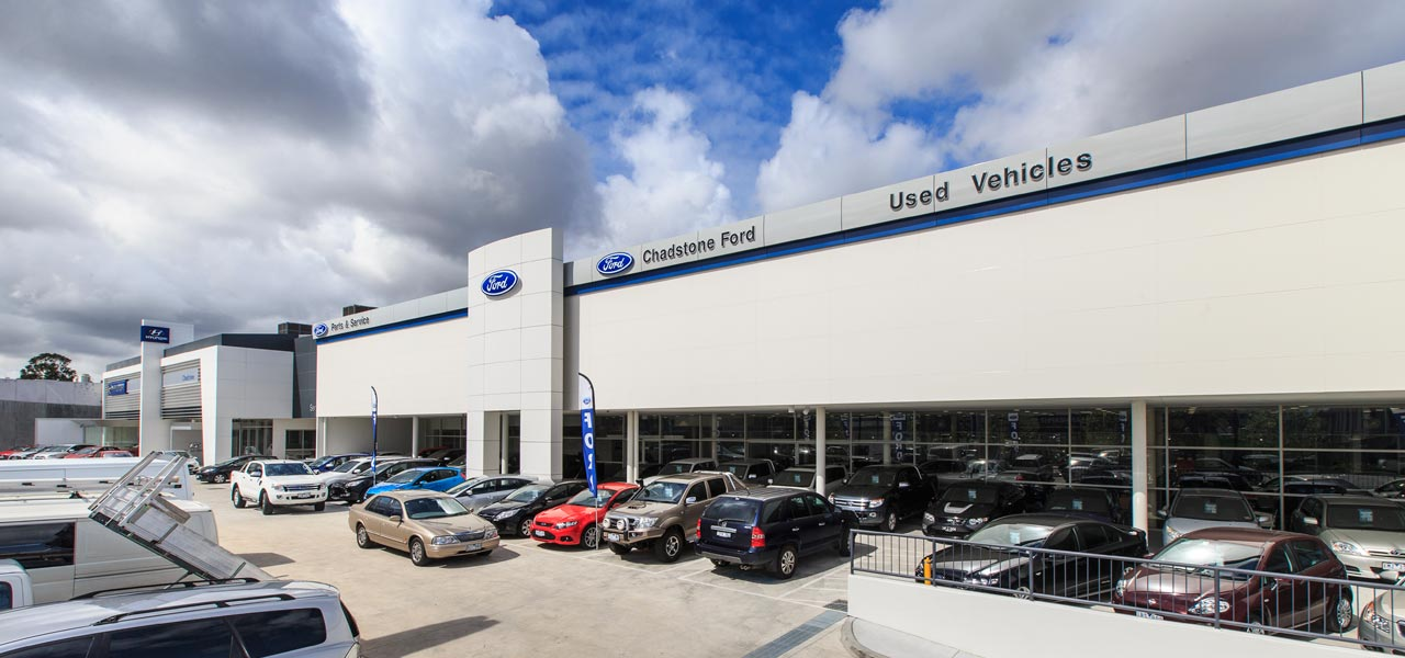 Chadstone Ford Hyundai Commercial Retail Cmw Design
