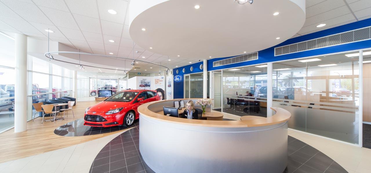 Chadstone Ford Hyundai Commercial Retail Cmw Design
